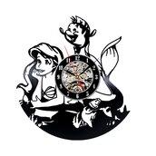 home accessory,little mermaid clocks,wall clocks,little mermaid gifts,mermaid gifts for her,gifts for her,gift ideas,creative clocks,vinyl clocks,bedroom clocks for girls,cute,beautiful,gifts for girlfriend,vintage clocks,the little mermaid