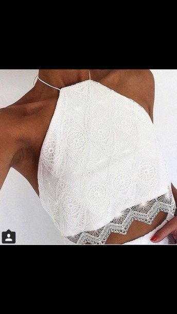 top white crop tops white top summer top crop tops lace top style
