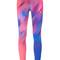 Nike printed leggings, women's, size: large, pink/purple