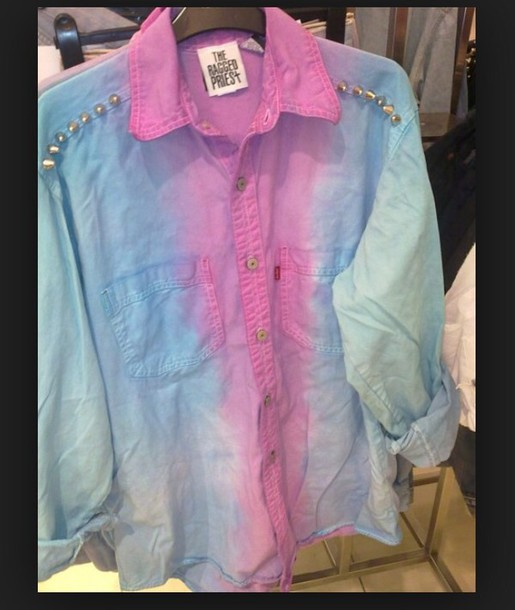 blouse tie dye shirt fav