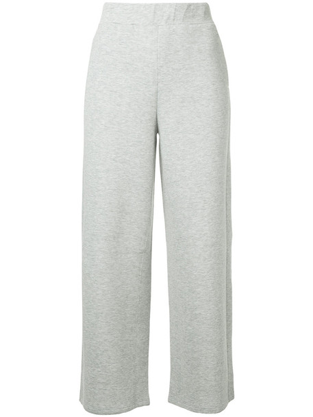 Ck Calvin Klein pants track pants women cotton grey