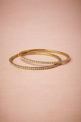 Opaline Bangles in  Shoes & Accessories Jewelry at BHLDN