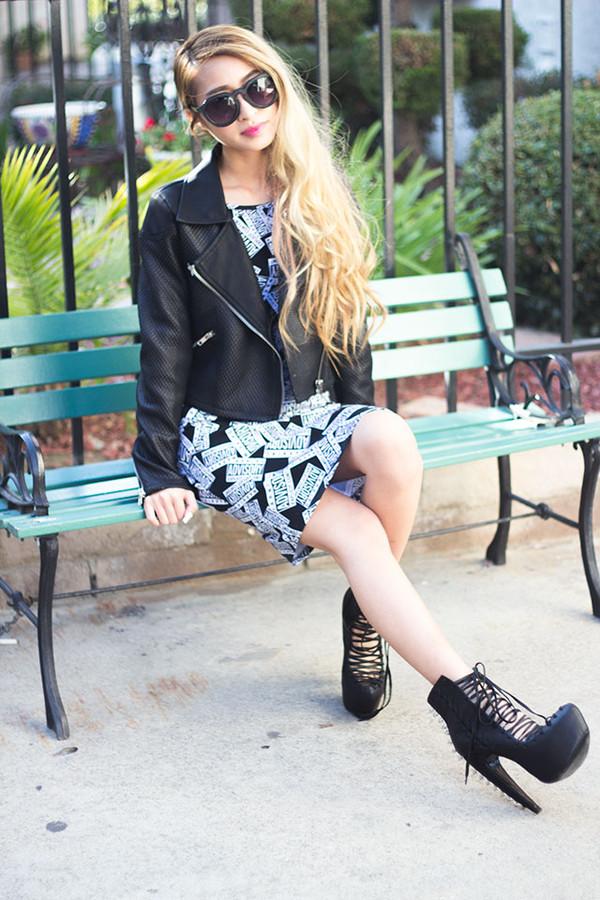 style2bones dress jacket sunglasses