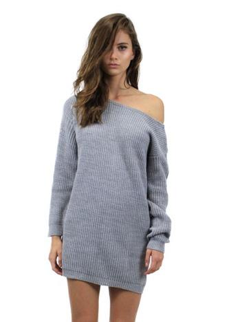 dress sweater grey grey sweater knit knit dress knitted dress sweater dress grey sweater dress off the shoulder off the shoulder sweater off the shoulder sweater dress
