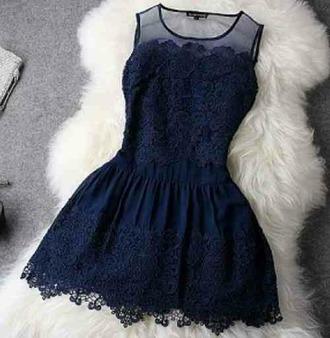dress blue dress see through dress gorgeous dress