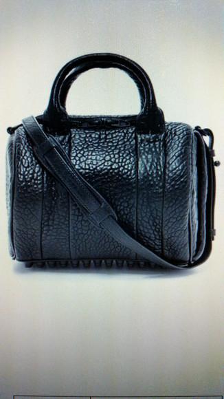 bag alexander wang black bag rockie