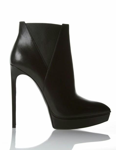 shoes black heels high heels platform shoes black black shoes chelsea boots ankle boots