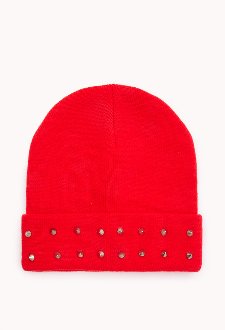 High-Voltage Spiked Beanie | FOREVER21 - 2000075921