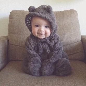 pajamas baby clothing baby baby boy onesie animal clothing fuzzy coat kids fashion