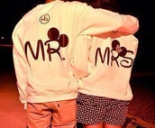 sweater,mickey mouse hoodies,matching couples,mr and mrs,mickey mouse,minnie mouse