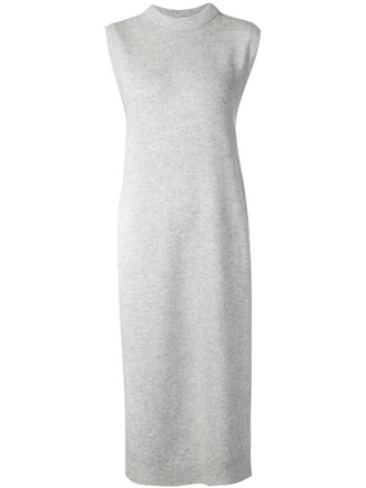 tunic maxi grey top
