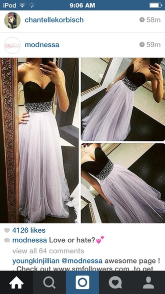 dress prom dress purple dress sparkly dress