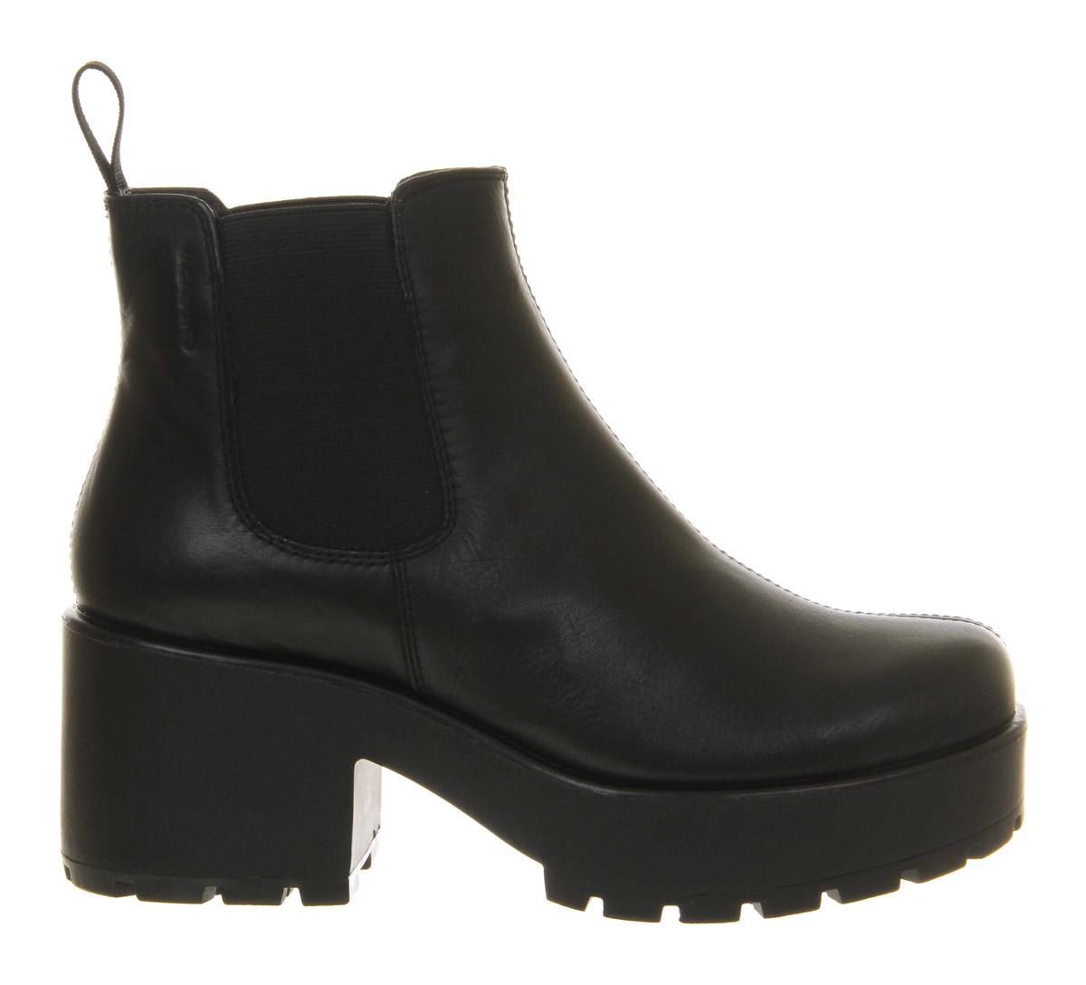 Vagabond Dioon Elastic Chelsea Boot Exclusive Black ...