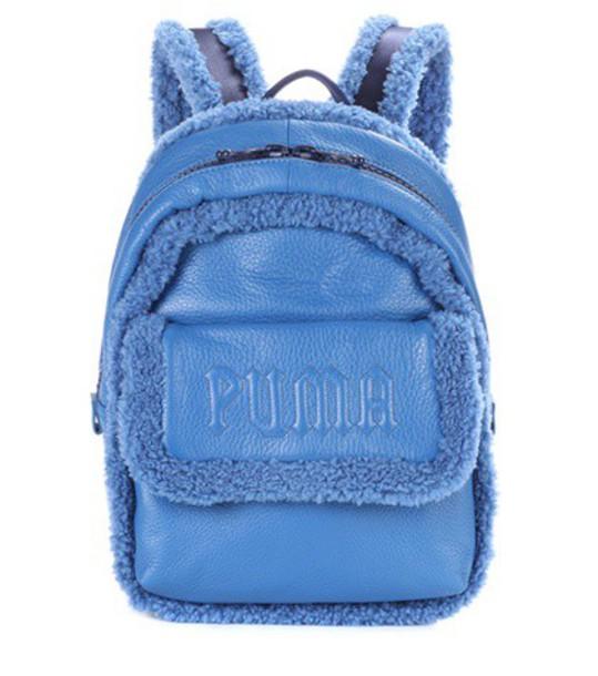 FENTY by Rihanna backpack leather backpack leather blue bag