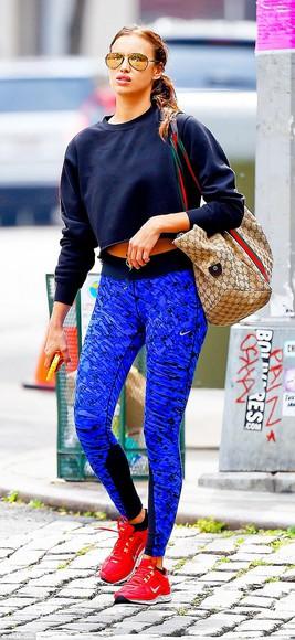leggings sportswear irina shayk