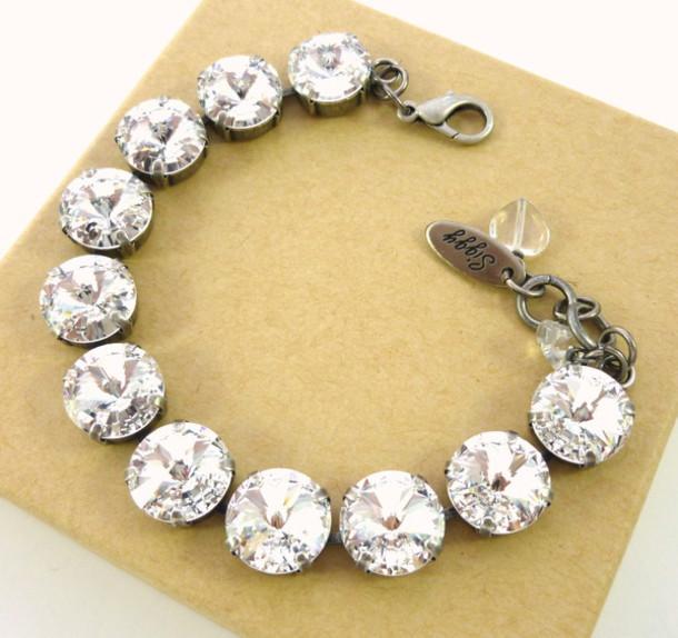 jewels swarovski bracelet swarovski jewelry 12mm bracelet