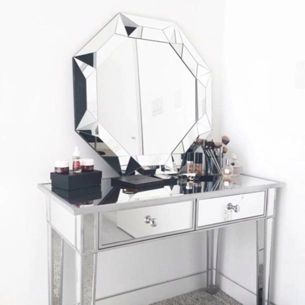 home accessory mirror queen white home decor