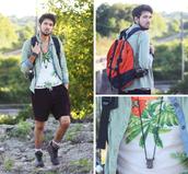 bobby raffin,blogger,menswear,palm tree print,outdoors,sportswear,tank top