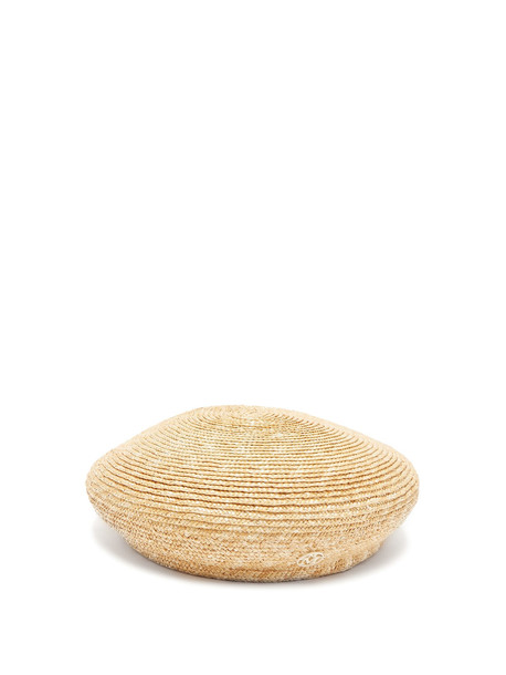 new hat beret beige