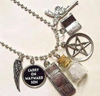 jewels supernatural tv show tv televison necklace found on instagram instagram