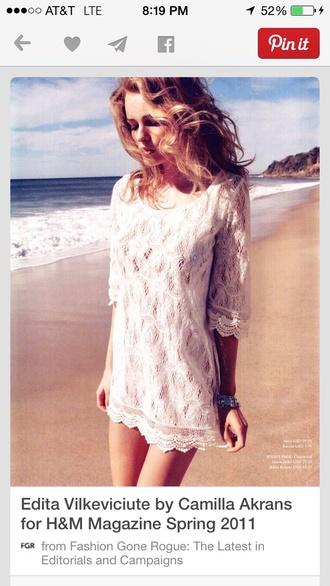dress white dress crochet maxi dress crochet lace dress babydoll dress mini dress cream dress