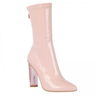 shoes ankle boots patent shoes patent ankle boots pink boots