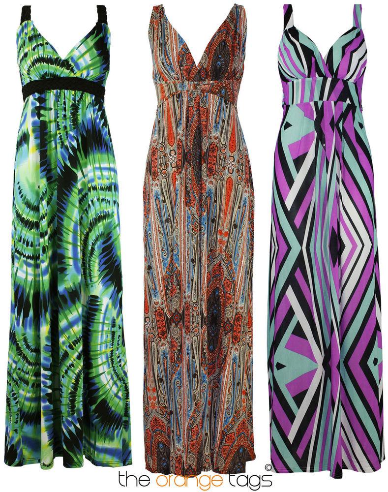 Fantastic Womens Animal Print Dress Mid Length Sleeveless Summer Party Dress Size UK 8-16 | EBay