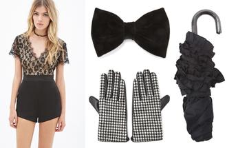 lizzy v d light blogger romper gloves