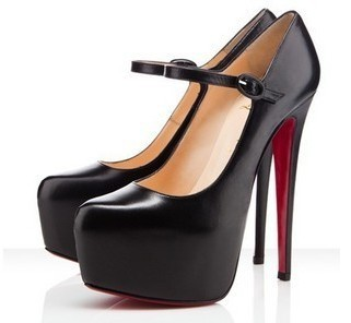 2014 ultra high 14 cm black nude mary jane pumps red bottoms high heels women pumps platform shoes woman bridal wedding shoes-in Pumps from Shoes on Aliexpress.com   Alibaba Group