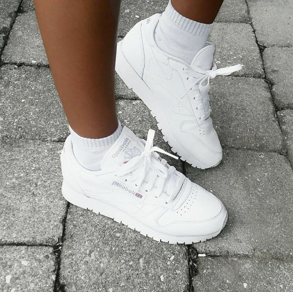 reebok classics white leather