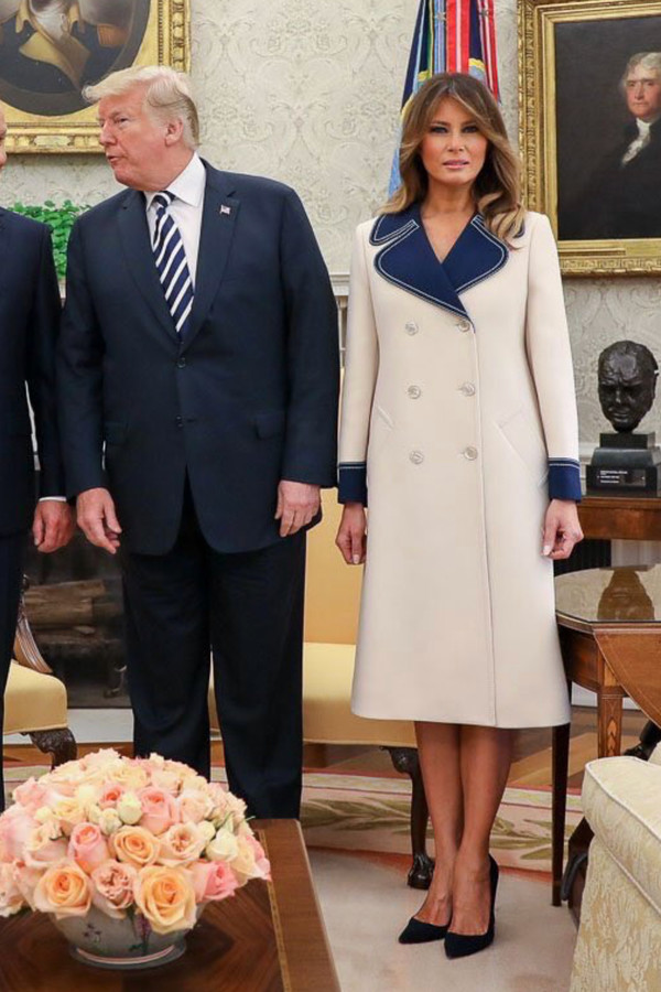 coat melania trump first lady outfits fall coat fall outfits