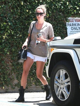 t-shirt ashley tisdale shorts jewels