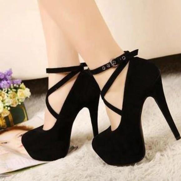 black high heels black heels strappy sandals heels nubuck black high heels strappy black heels