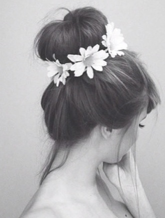 jewels hippie headband headband floral headband flower headbands hair accessories hair band floral flower crown bun brown hair long hair cute acessories flower hair