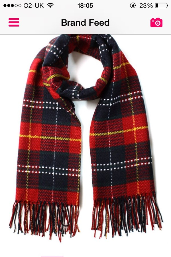 scarf plad plaid nice grunge winter outfits jumper cute emo black red tumblr girl tumblr girl