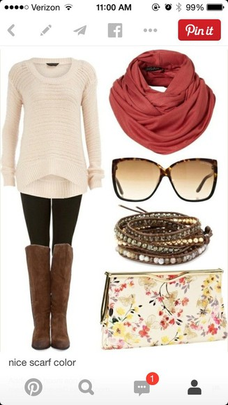 white sweater style knitwear cute fall sweater