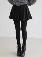 shoes,clothes,high heels,black dress,black shoes,skirt,grey pullover,hippie,tights,lace up,black,skater skirt,boots,black boots,leather,sweater,grunge,black skater skirt,coat,leggings,tumblr