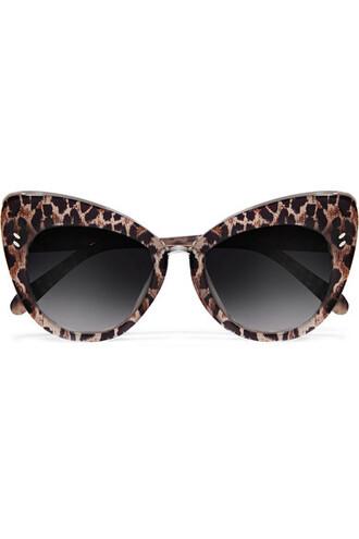 sunglasses print brown