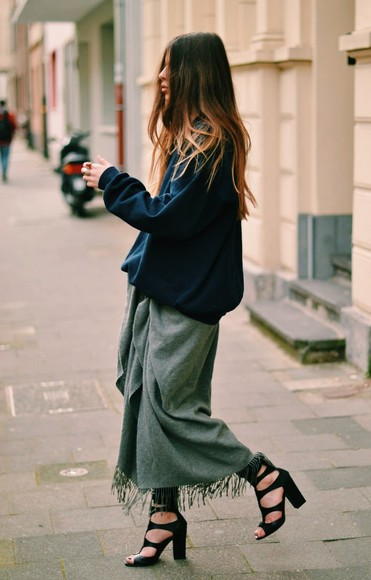 scarf skirt shoes shirt maja wyh