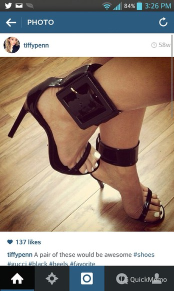 shoes black heels stilettos heels sandal buckle
