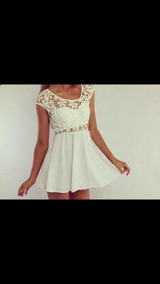 dress white tumblr