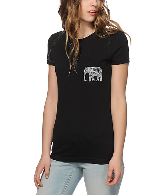 Empyre elephant pocket t