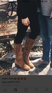 shoes,heel boots,tall boots,boots,leather,suede,tan boots,riding boots