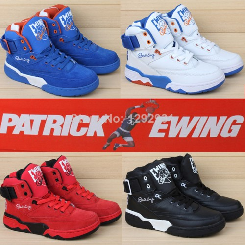2014 New Patrick Ewing Shoes Athletic 33 Hi /gd/bigbang Mens Basketball Shoes With Original Box Size Us7-11