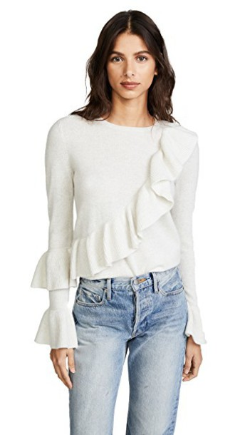 Club Monaco sweater white