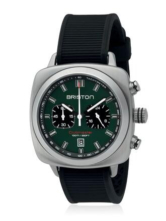 watch black green jewels