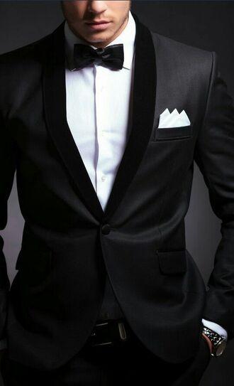 jacket bowtie mens tuxedo classy mens blazer
