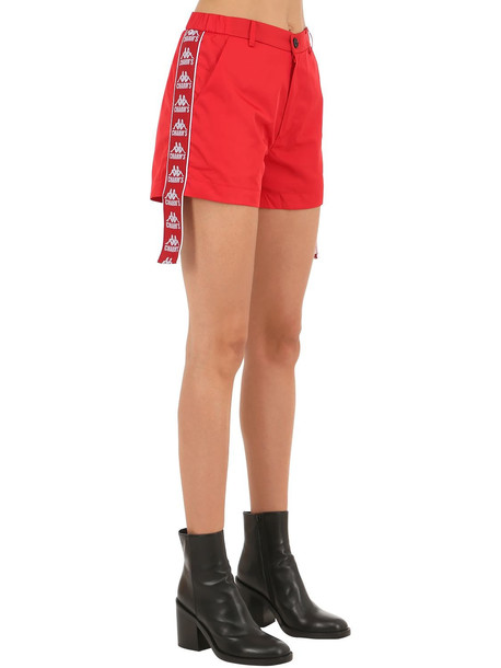 CHARM'S Kappa Track Shorts in red