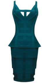dress,dream it wear it,clothes,green,green dress,pattern,herve leger,cut-out,cut-out dress,v neck,v neck dress,peplum,peplum dress,bodycon,bodycon dress,party,party dress,sexy party dresses,sexy,sexy dress,party outfits,classy,classy dress,elegant,elegant dress,cocktail,cocktail dress,girly,date outfit,birthday dress,holiday dress,holiday season,romantic,romantic dress,textured,trendy,style,stylish,dope,cute,cool,girl