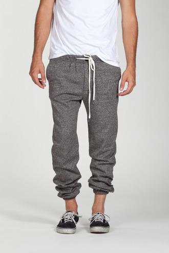 grey pants pants sweatpants laces gray grey sweatpants sweatpants tumblr